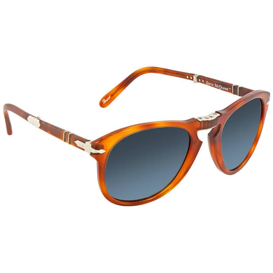 3da13b8a60 Persol 714- Steve McQueen Polarized Blue Gradient Sunglasses PO0714SM 96 S3  54