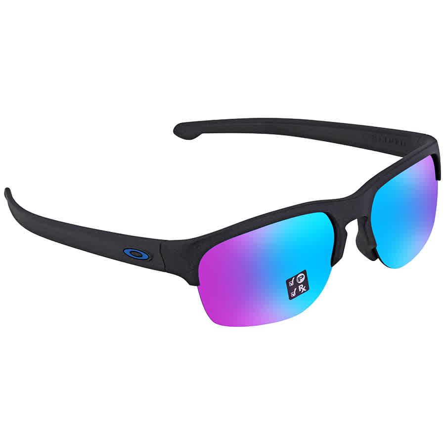 89d5865ab0 Oakley Sliver Edge Prizm Sapphire Square Asia Fit Sunglasses 0OO9414 941406  63