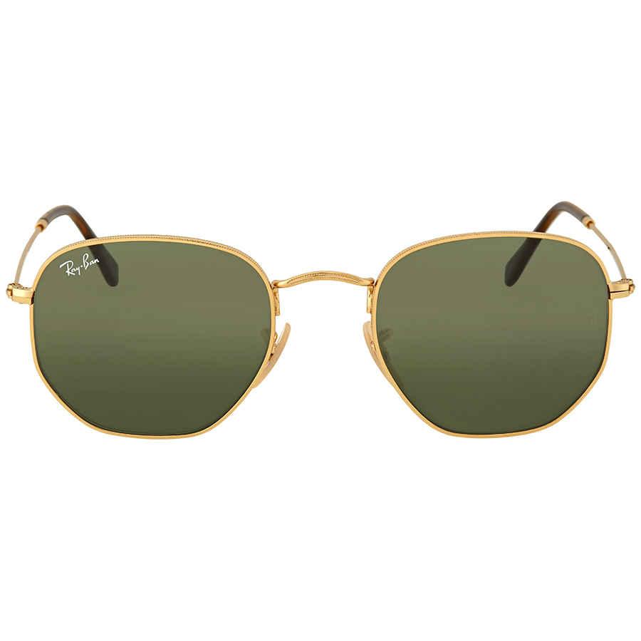 4b885aeebf Ray Ban Hexagonal Sunglasses RB3548N 001 51 8053672611649 | eBay