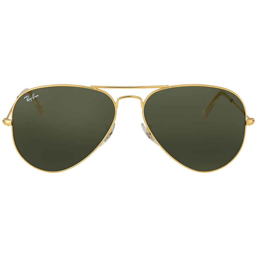 44b791cae25f6 Ray Ban Aviator 58mm Classic Green Sunglasses RB3025 L0205 58-14 ...