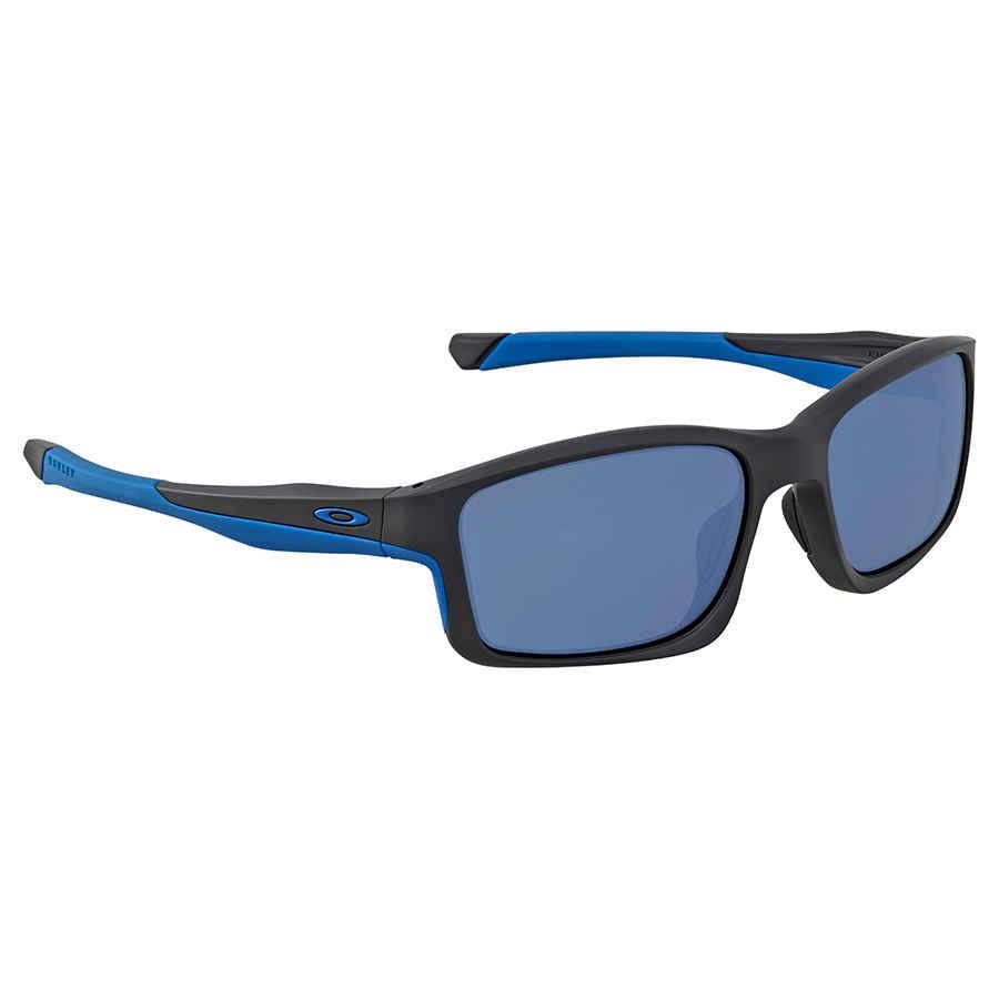 33c62eed1ea16 Oakley Chainlink Ice Iridium Rectangular Men s Sunglasses OO9247-924705-57
