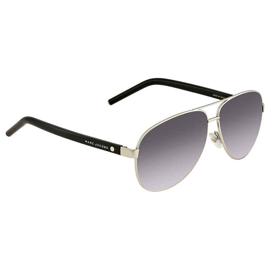 f6327d9f5 Marc Jacobs Grey Gradient Lens Aviator Sunglasses MARC 71/S 084J HD ...