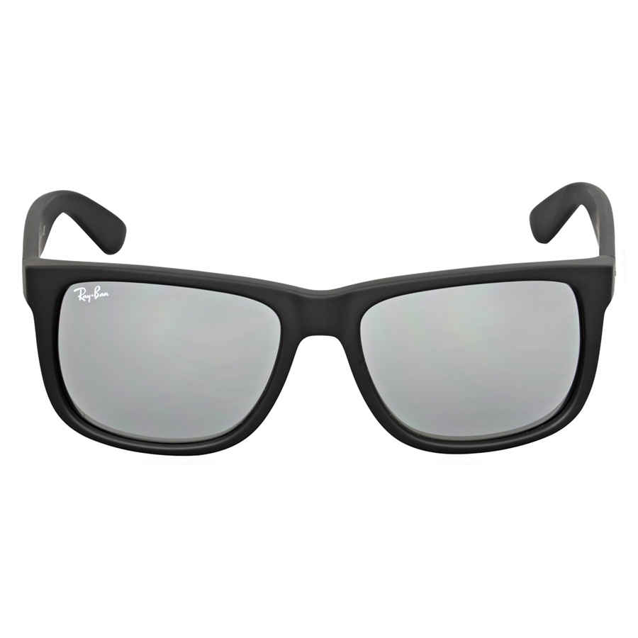 0bb32fbb7 Ray Ban Justin Color Mix Grey Mirror Sunglasses RB4165 622/6G 55 ...