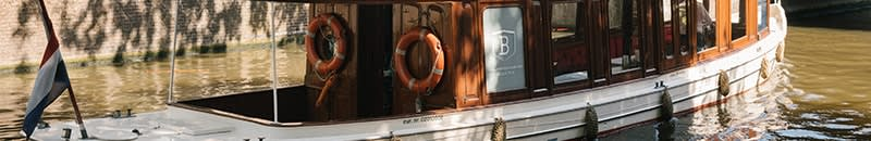 Boat ondine wedding