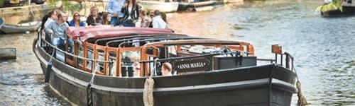 Canal barge anna maria