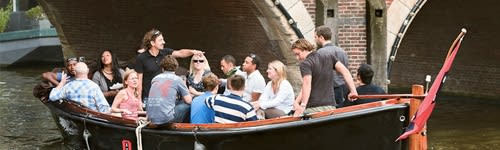 Sloep huren in amsterdam