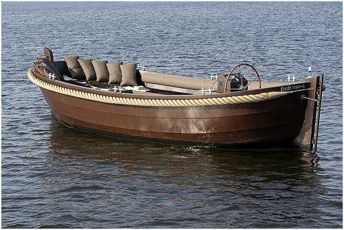 Open boat Mr Brown