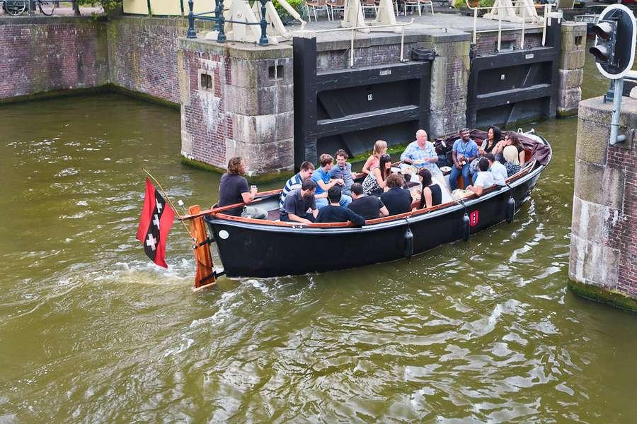 Открытая лодка Manhattan