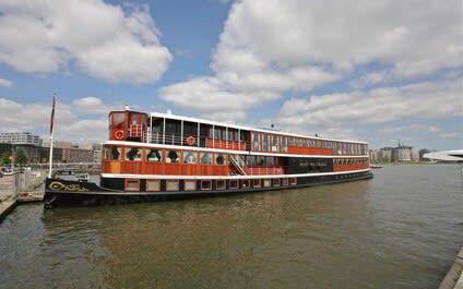 IJ boot Prins van Oranje Amsterdam
