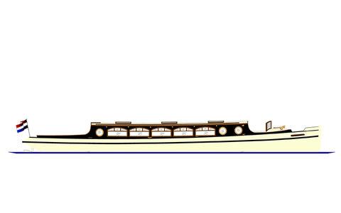 Salonboot Eveline Amsterdam