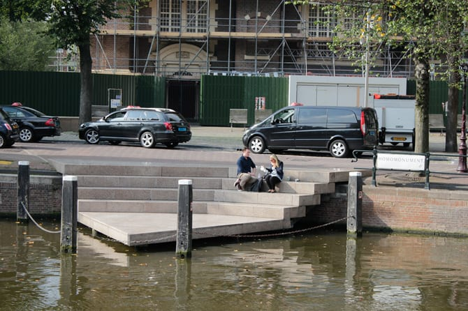 Location Homomonument / Keizersgracht 190