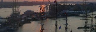 Sail Amsterdam Cocktail-Fahrt Amsterdam