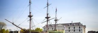 Scheepvaartmuseum package deal Amsterdam