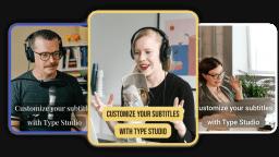 Customize Subtitles Online