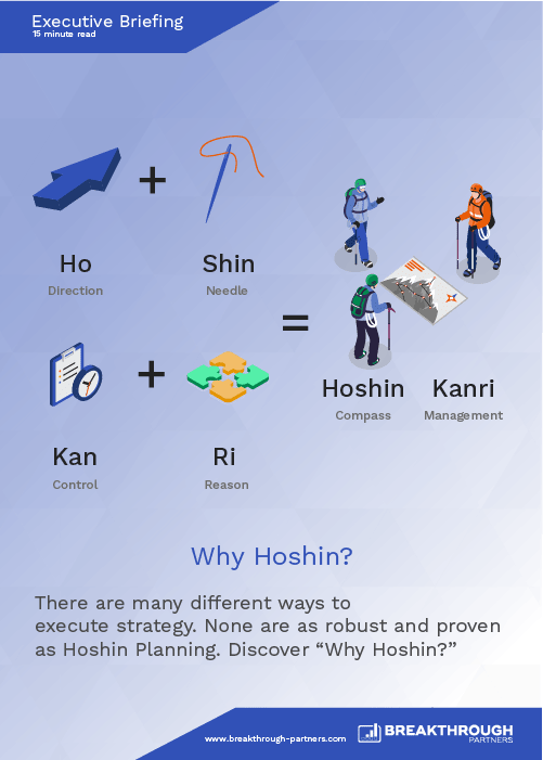Why Hoshin?