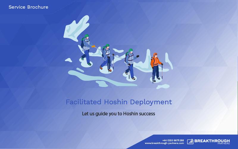 Facilitated Hoshin Deployment Brochure