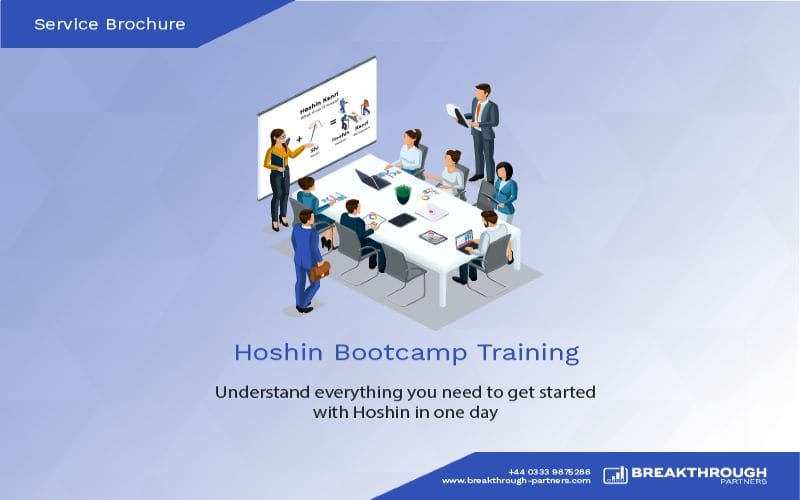 Hoshin Bootcamp Training Brochure
