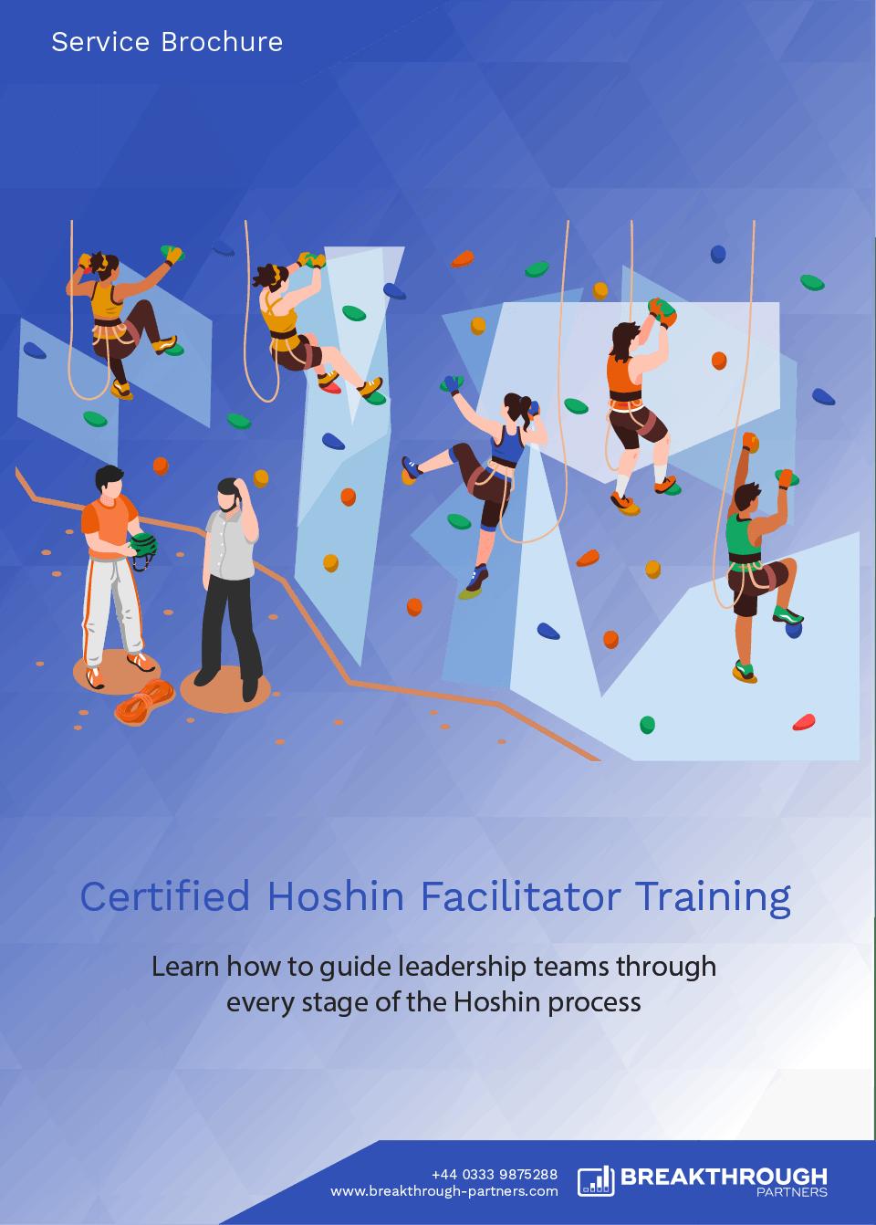 Certified Hoshin Facilitator Training Brochure