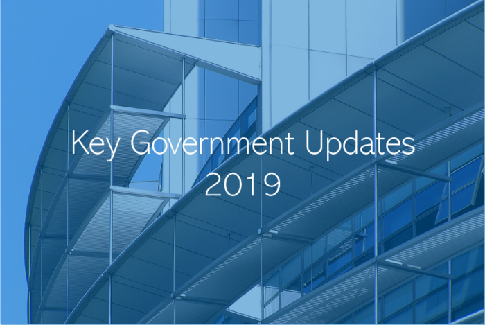 2019 Key Government  Announcements
