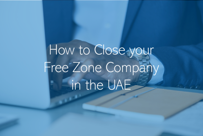 How to Close and Liquidate a Freezone Company in the UAE