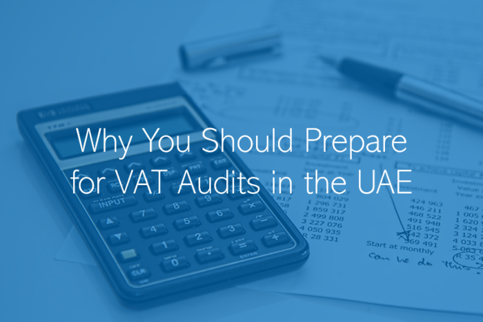 Why you should prepare for VAT Audits in UAE?