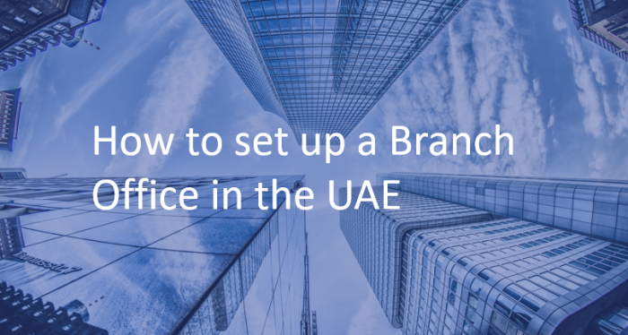 how to open a foreign branch office in the uae dubai abu dhabi