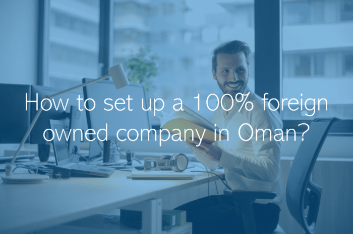How to set up a 100 foreign owned company in Oman Muscat