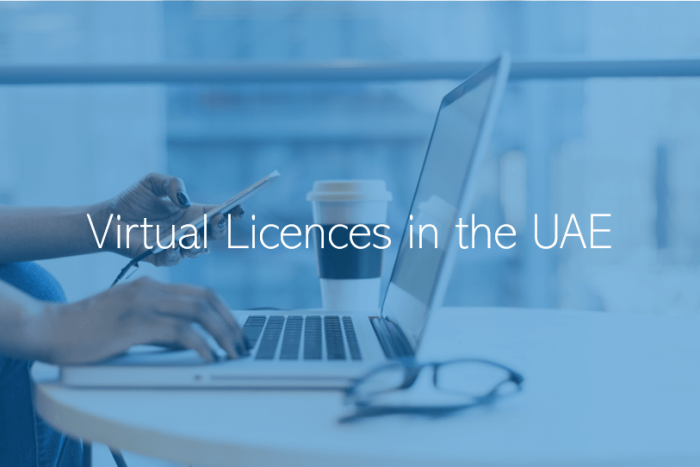Virtual Licences Launched in the UAE