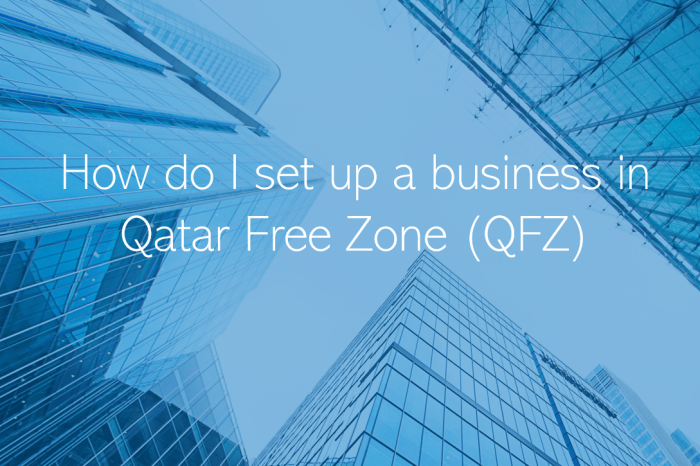 How do I set up a business in Qatar Free Zone QFZ Qatar