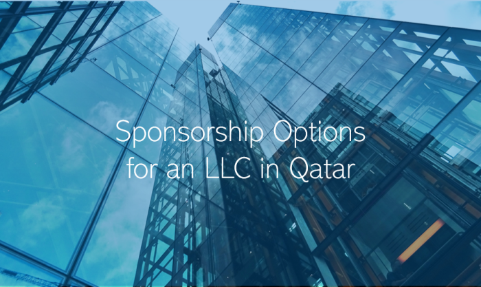 What type of sponsorship options are there in Qatar?