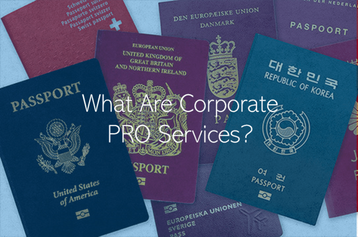 What are corporate PRO Services in Qatar PRO Services in Doha
