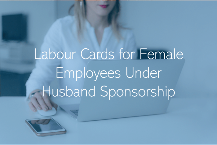 Working Under spouse Visa in Qatar Labour card for women in Qatar