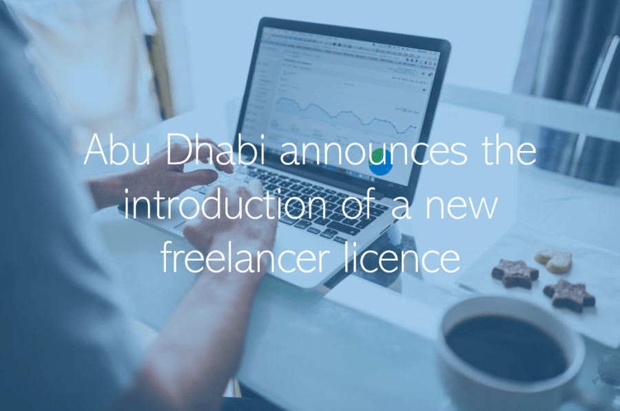 Abu Dhabi announces the introduction of a new freelancer licence UAE