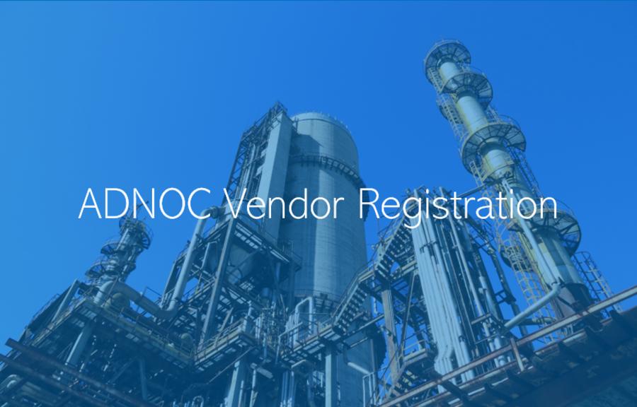 ADNOC Vendor Registration