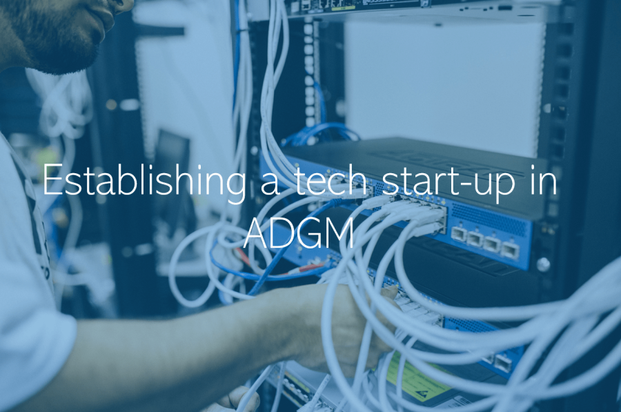 Establishing a tech start-up in ADGM Abu Dhabi UAE