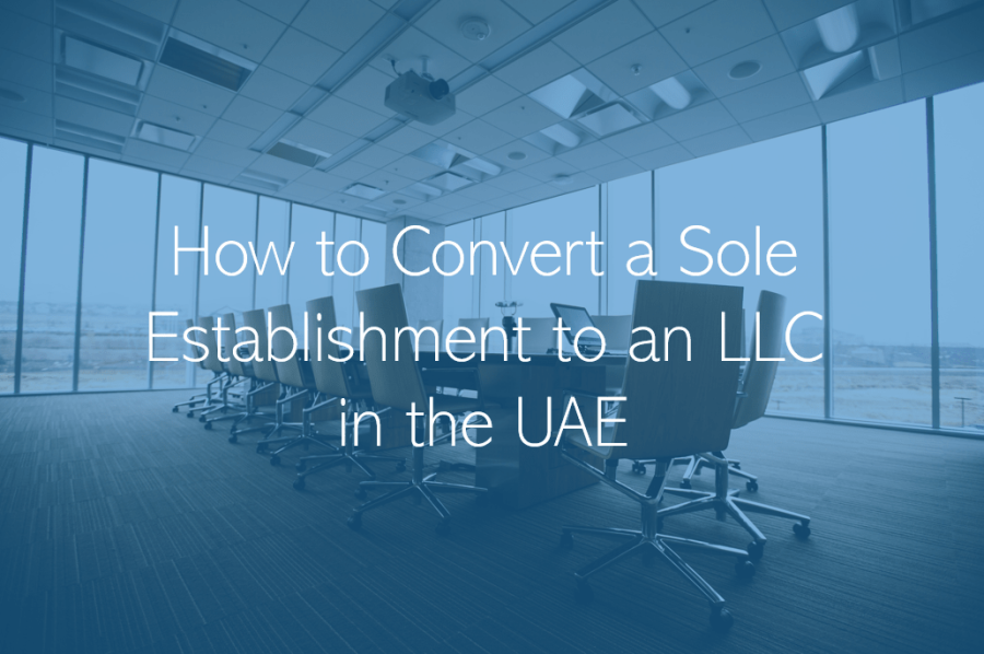 How to convert a Sole Establishment to an LLC in Abu Dhabi or Dubai