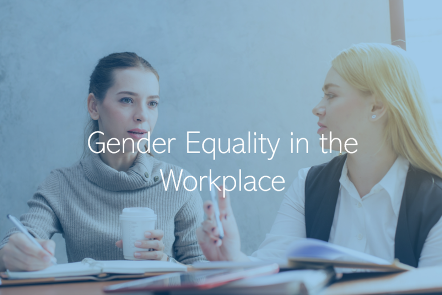Gender Equality in the Work Place