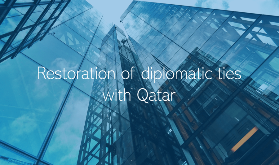 Qatar Blockade Restoration of diplomatic ties with Qatar