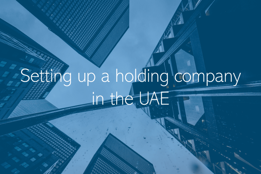 Setting up a holding company in the UAE Dubai Abu Dhabi