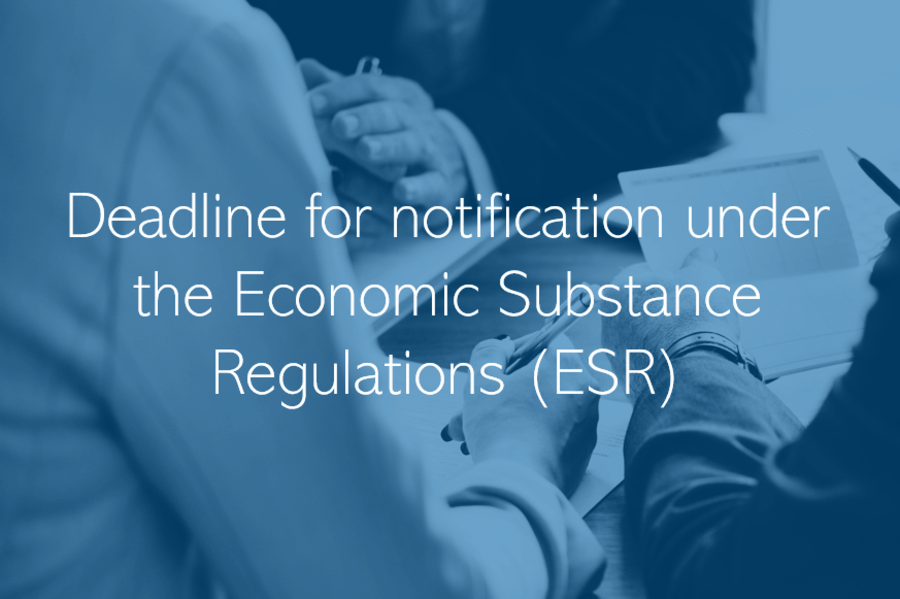 UAE Economic Substance notification update deadline extended