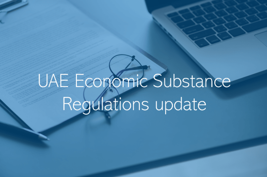UAE Economic Substance Regulations Abu Dhabi Dubai