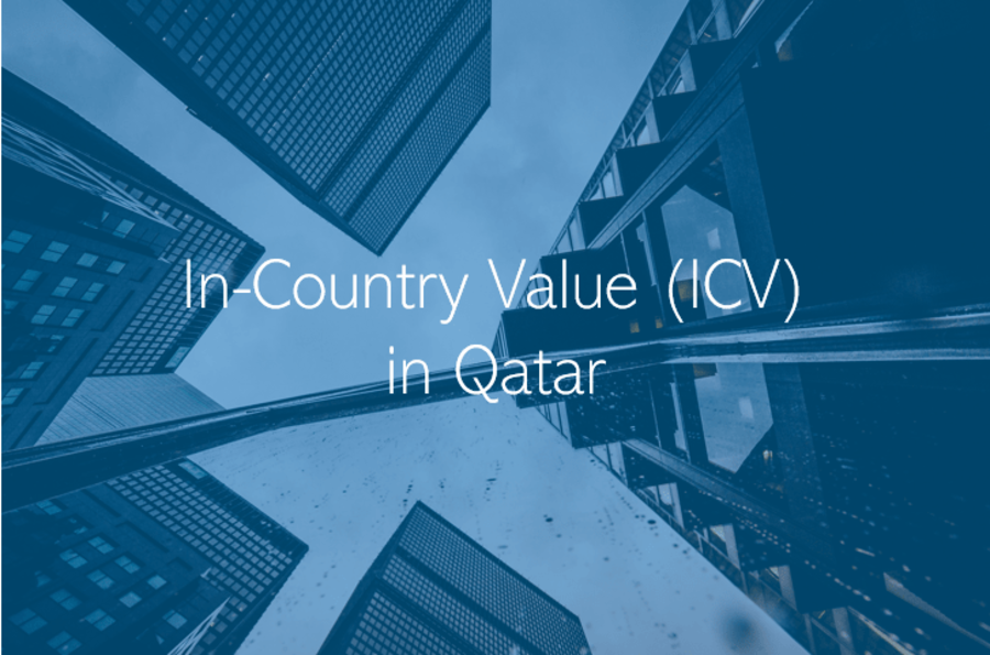 In-Country Value Qatar Tawteen ICV What is In-Country Value ICV Qatar