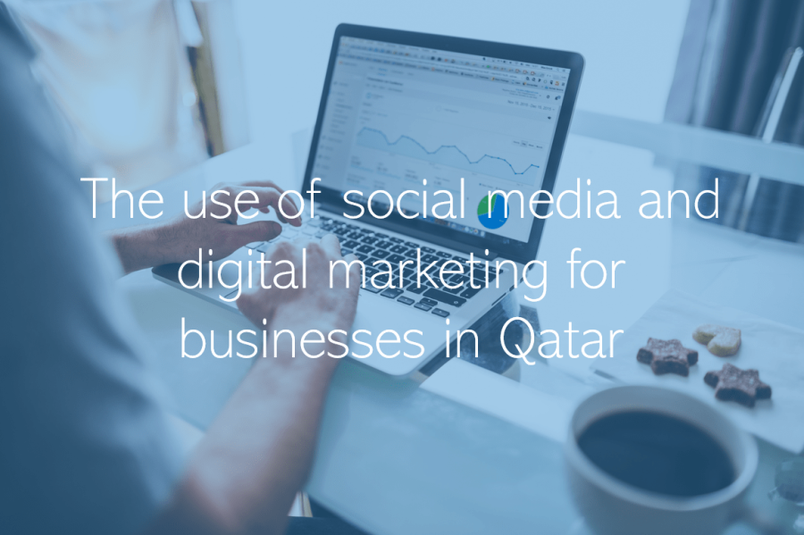 The use of social media and digital marketing for businesses in Qatar