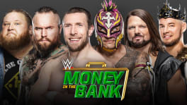 Affiche Money In The Bank Ladder match homme à Money In The Bank 2020