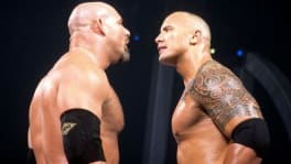Goldberg face à The Rock à Backlash