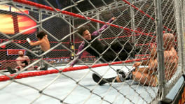The Hardy boy's contre Sheamus et Cesaro dans un match en cage à Extreme Rules