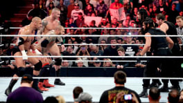The Shield vs Evolution à Extreme Rules