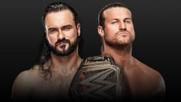 Affiche Extreme Rules 2020 Drew McIntyre vs Dolph Ziggler