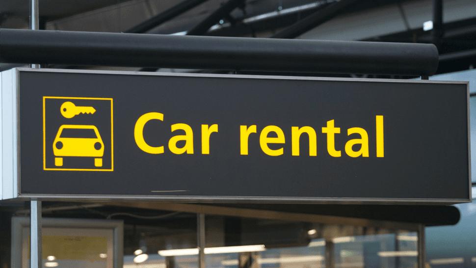 credit card car rental
