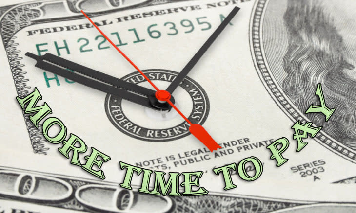 Giving You More Time to Pay